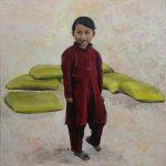 Nepali Child by Elisenda Vila