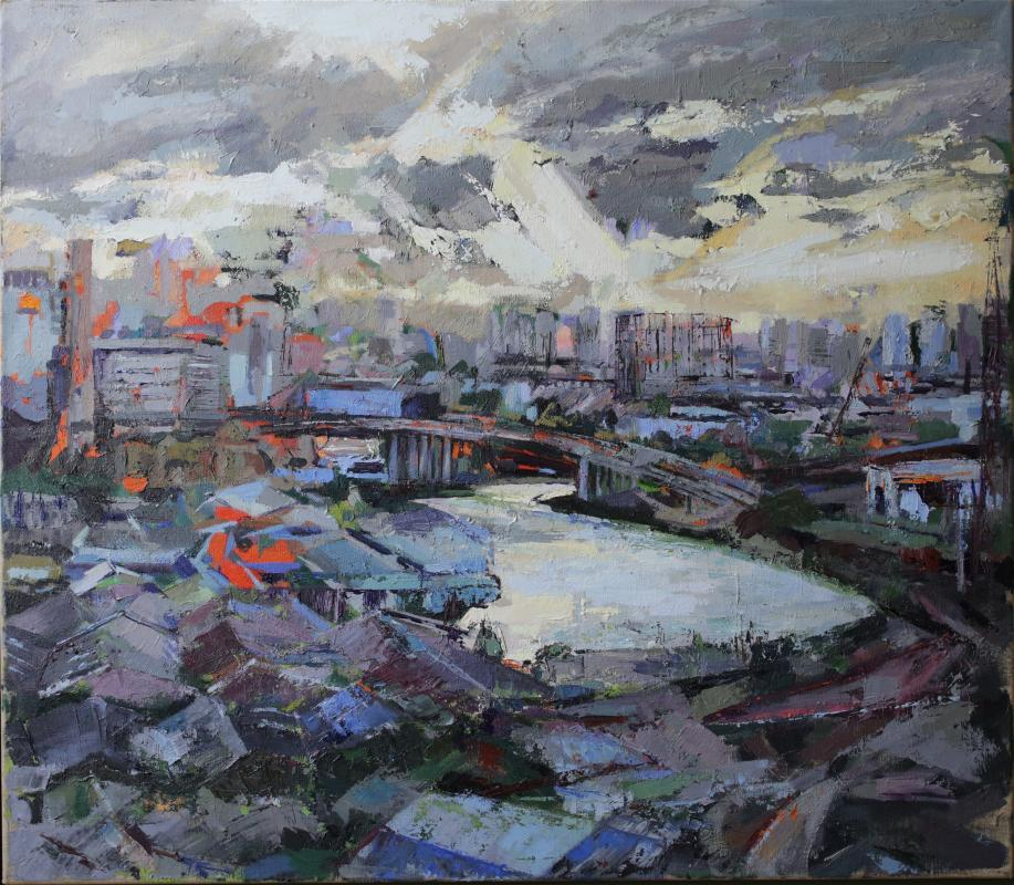Basia Burrough, Cable Car Ride at Greenwich