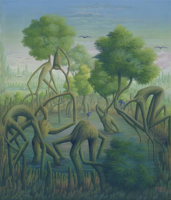 Makenol Profil, The Pool of Trees