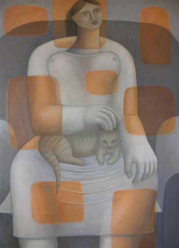 Ruth Addinall, Study in Orange and Grey