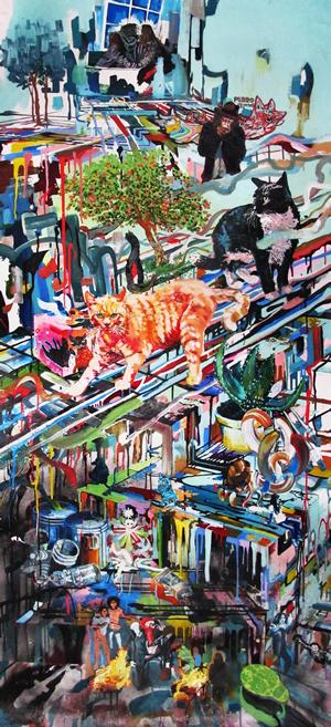 Rene Gonzalez 2013, Painter's Studio