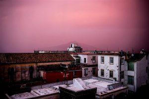 Joseph Lebus, Pink Mist Settles On Vesuvius