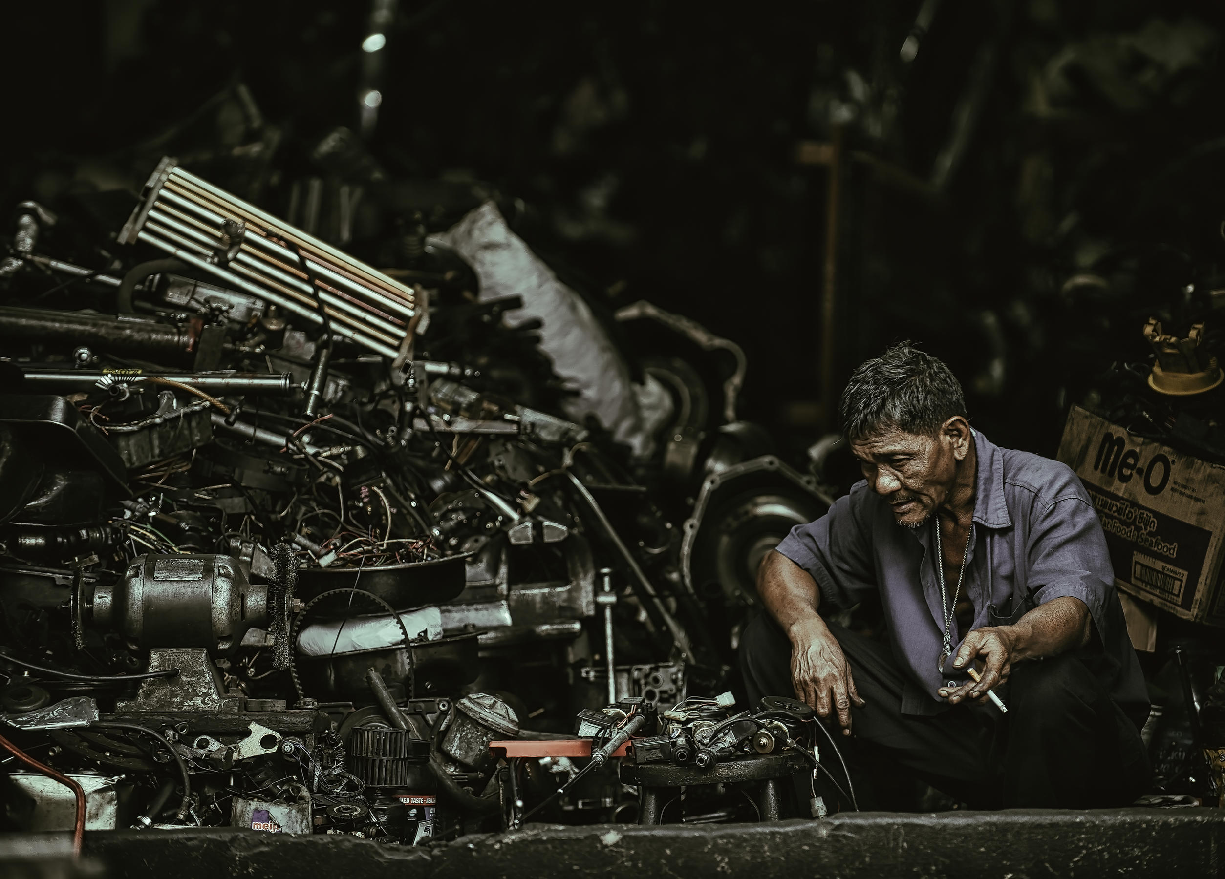 Viraj Bunnag (Thailand), End of a long day, 2017