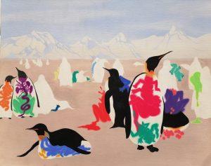 Heena Kim, Normadism, 2009, acrylic on canvas, 61 x 51cm