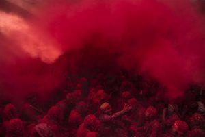 Aman Chotani, Passion of Red, 2017, Digital print on canvas, 76x101.5cm